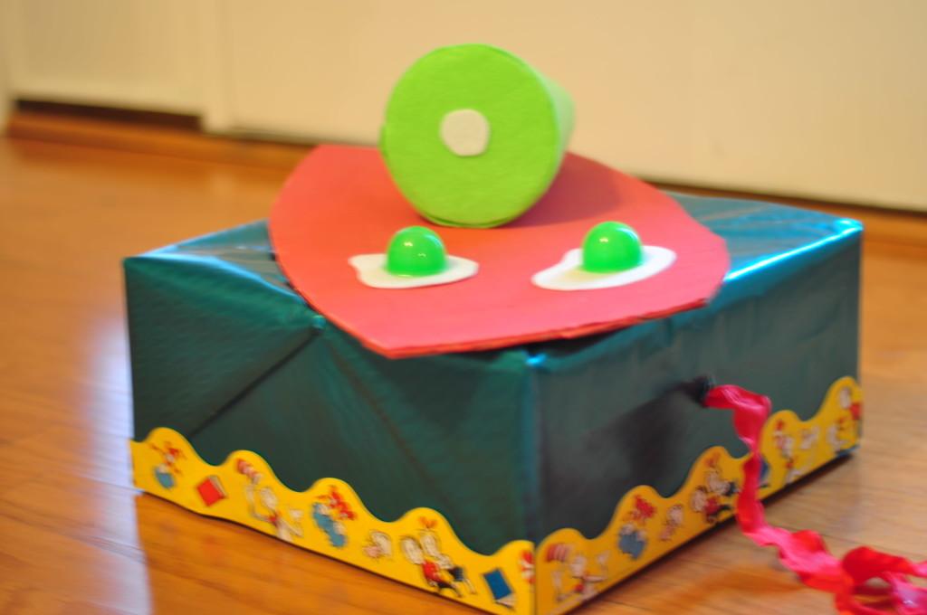 Green Eggs and Ham School Float