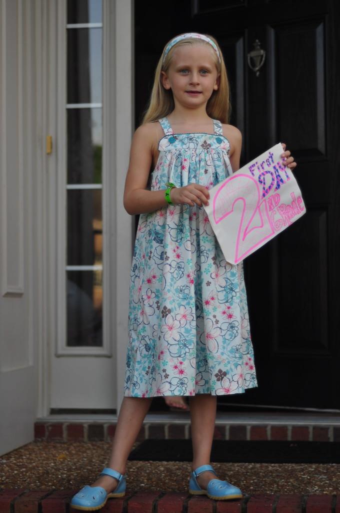 Abigail 2nd grade