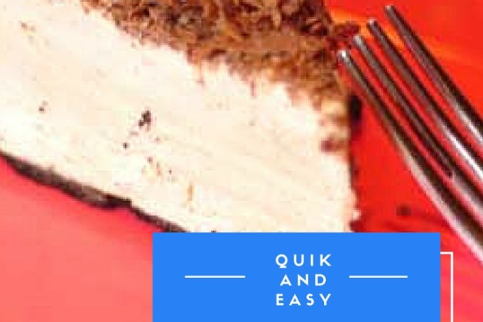 Quick and Easy Frozen Peanut Butter Pie